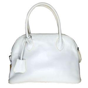 Danier Leather white handbag